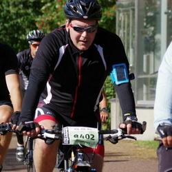 Cycling 90 km - Mats Kallin (8402), Daniel Riccius (9029)
