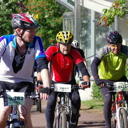 Cycling 90 km - Karl-Erik Andersson (7809), Bror Persson (9424), Andreas Skälegård (10282)