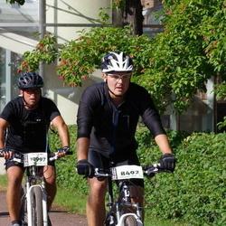 Cycling 90 km - Jarmo Kiiskinen (8492), Andreas Anselmius (10997)
