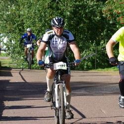 Cycling 90 km - Janne Wallgren (9292), Olle Carlsson (9489)