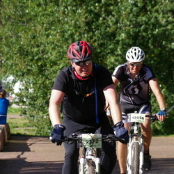 "Cycling 90 km - Henrik""henke"" Claesson (9372), Marcus Teglund (12058)"