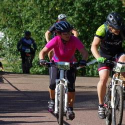 Cycling 90 km - Tone Eriksson (9221), David Laurell (12357)