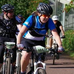 Cycling 90 km - Elin Ala (10415), Christian Sörensen (10748)
