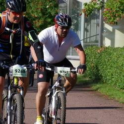 Cycling 90 km - Peter Larsson (9248), Henrik Albertsson (9741)