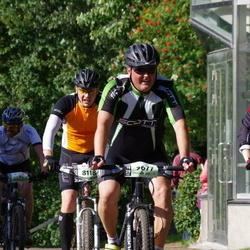 Cycling 90 km - Fredrik Rosin (8118), Anders Österberg (9677), Tim Hämäläinen (14626)