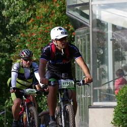 Cycling 90 km - Adam Kisielewski (11182), Calle Ringborg (11960)
