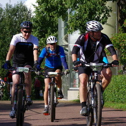 Cycling 90 km - Henrik Johansson (10697), Mikael Karlström (10855)