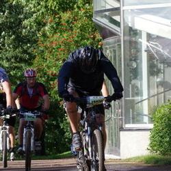 Cycling 90 km - Anders Pettersson (9916), Mattias Hallen (13378)