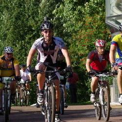 Cycling 90 km - Björm R Sögnen (8124), Anders Pettersson (9916), Björn Andersson (13554)