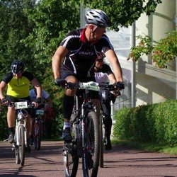 Cycling 90 km - Peter Antoni (9414), Fredrik Lindman (12430)