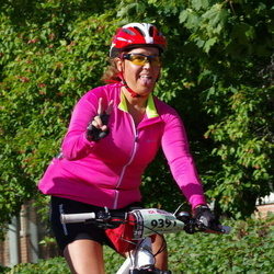 Cycling 90 km - Taina Nystedt (9397)