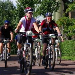 Cycling 90 km - Birgitta Arvenäs (8311), Anders Liden (8355)