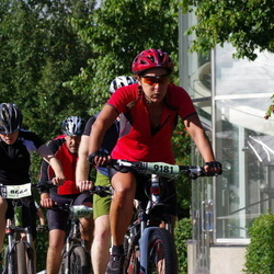 Cycling 90 km - Axel Axelson (8666), Evamarie Lindborg (9181)