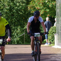 Cycling 90 km - Johannes Berglund (11630), Henrik Hagström (13025)