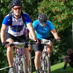 Cycling 90 km - Tony Hedman (12917), Emil Jansson (14555)