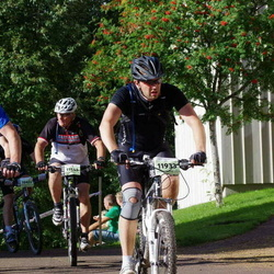 Cycling 90 km - Hans Thorsaeus (9973), Bengt Sundberg (11545), David Holmgren (11933)