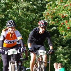 Cycling 90 km - Helena Hasselblad (8269), Anders Törnqvist (13197)