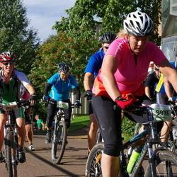 Cycling 90 km - Caroline Näslund (9076), Per-Ola Martinsson (13241), Ann-Charlotte Sköld (13557)