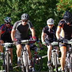 Cycling 90 km - Christoffer Eriksson (8474), Sanna Gille (10386), Ronny Quist (11895), Sven Hjelmstedt (11902)