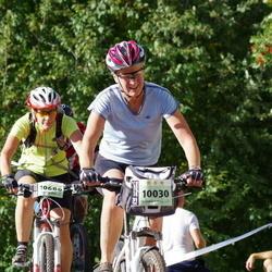 Cycling 90 km - Kerstin Nisses (10030), Jeanette Jonasson (10686)