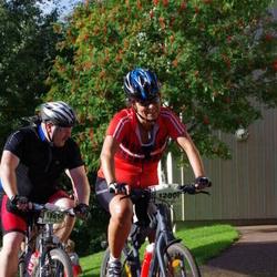Cycling 90 km - Agneta Larsson (12007), Klas Djerf (13654)