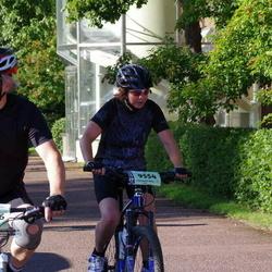 Cycling 90 km - Monika Johansson (9554), Esko Väntsilä (9566)