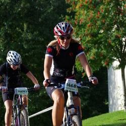 Cycling 90 km - Ingalill Skoog (14681), Jeanette Skoog (14683)