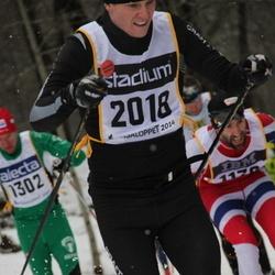 Skiing 90 km - Fredrik Öhrner (2018)