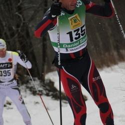 Skiing 90 km - Daniel Sandoz (135)