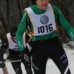 Skiing 90 km - Anders Hübinette (1016)