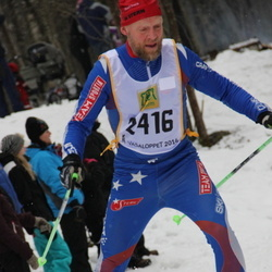 Skiing 90 km - Anders Buskqvist (2416)