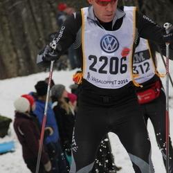 Skiing 90 km - Henrik Granström (2206)