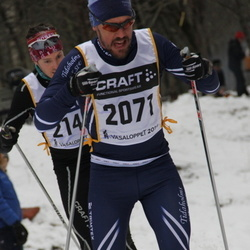 Skiing 90 km - Fredrik Swärd (2071)