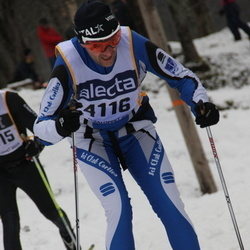 Skiing 90 km - Andrea Cautiero (4116)