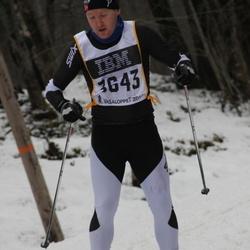 Skiing 90 km - Alexander Hjelmtvedt (3643)