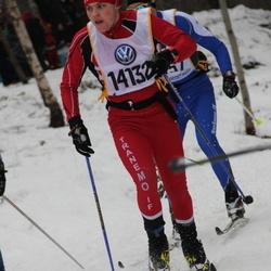 Skiing 90 km - Fredrik Finnskog (14132)