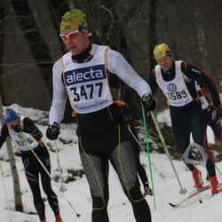 Skiing 90 km - Henrik Andersson (3477)