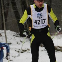 Skiing 90 km - Adam Airosto (4217)