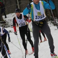 Skiing 90 km - Jan Petrou (3760), David Timner (4366)