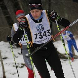 Skiing 90 km - Daniel Berggren (7343)