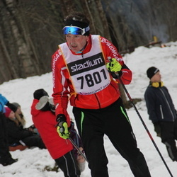 Skiing 90 km - Janne Mikkola (7801)