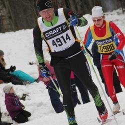 Skiing 90 km - Andreas Carlén (4914)