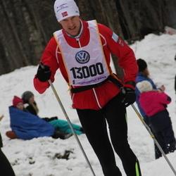Skiing 90 km - Alexander Jansson (13000)