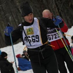 Skiing 90 km - Daniel Spiro (4669)