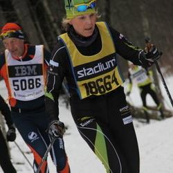Skiing 90 km - Agneta Öster (18664)