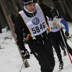 Skiing 90 km - Carl Håkon Svenning (5846)