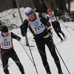 Skiing 90 km - Anders Moritz (5322), Johan Åberg (7212)