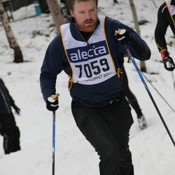 Skiing 90 km - August Nilsson (7059)