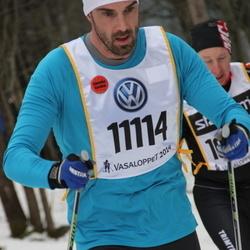 Skiing 90 km - Fredrik Sylvan (11114)