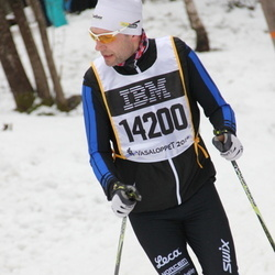 Skiing 90 km - Christoffer Aas Clementz (14200)